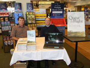 Barnes-Noble book signing copy